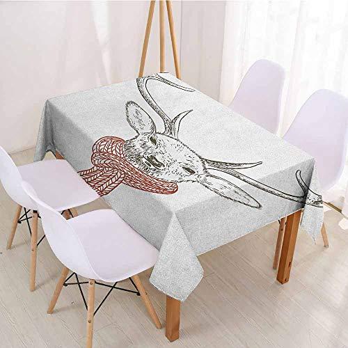 - ScottDecor Table Cover Christmas Tablecloth W 50