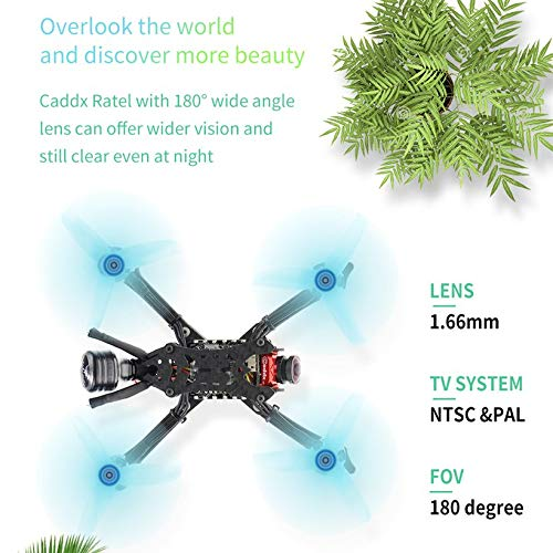 Wikiwand HGLRC Arrow 3 FPV Racing Drone 4S BNF Quadcopters with Flysky A8S V2 Receiver by Wikiwand (Image #3)