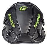 Motorcycle Tank Bag, Evary Waterproof Motobike Backseat Rear Tail Saddle Bag PU Leather Luggage Riding Storage Bag Multifunctional