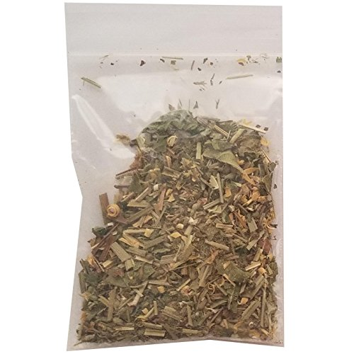 5-in-1 Cat Drug Blend (Honeysuckle, Silver Vine, Organic Valerian Root, Organic Lemongrass, and Organic Catnip) (1/4 oz (7 g))