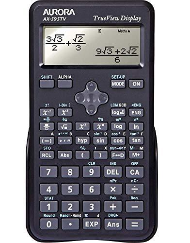 Aurora AX-595TV Scientific Calculator - Black an Ideal Calcu