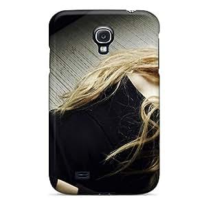LdHRQSh3079qxmxf Case Cover, Fashionable Galaxy S4 Case - Avril Lavigne Black Evening Dress