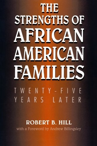 Search : The Strengths of African American Families: Twenty-Five Years Later
