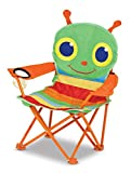 Melissa & Doug Sunny Patch Happy Giddy Outdoor Folding Lawn and Camping Chair