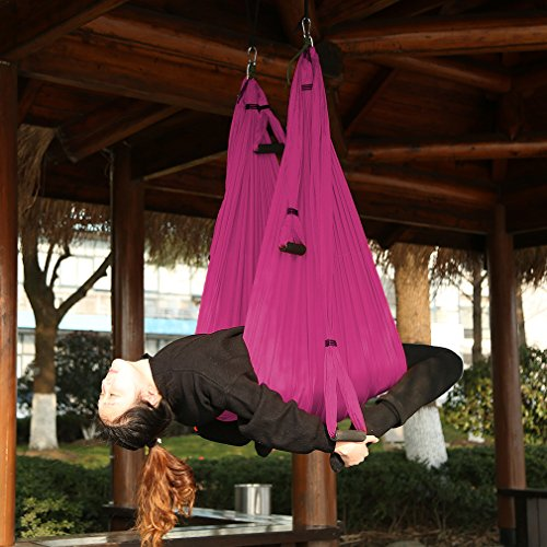 Aerial Yoga Swing/ Trapeze/Hammock Sling/Trapeze Inversion Sling Tool Strong Antigravity for Air Yoga Inversion Exercises