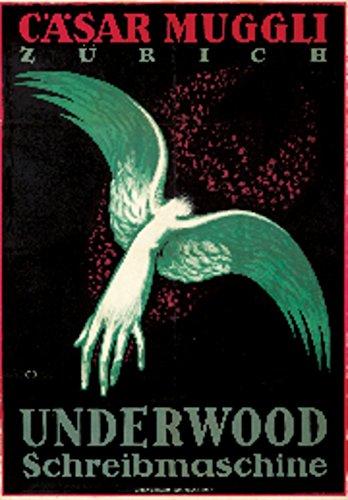 Underwood Vintage Poster (artist: Moos, Carl) Switzerland c. 1918 (24x36 Fine Art Giclee Gallery Print, Home Wall Decor Artwork Poster)