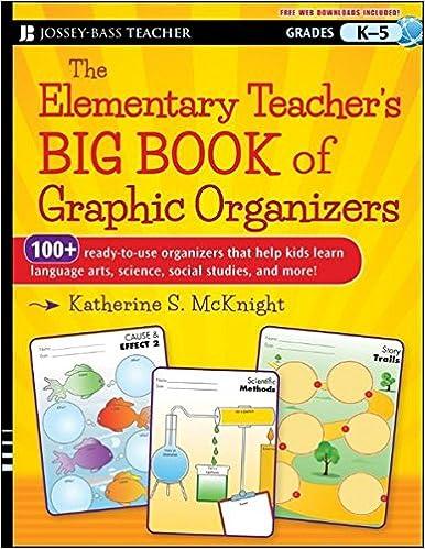 Workbook elementary art worksheets : The Elementary Teacher's Big Book of Graphic Organizers, K-5: 100+ ...