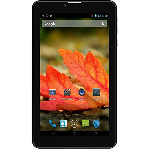 7MTK 3G Dual Sim Card Android 4.4 Bluetooth Capable 4GB Dual Camera Mutlitouch tablet pc by WorryFree Gadgets