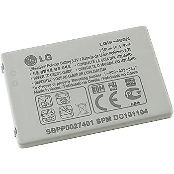 LG GW820 GW620 GT540 Battery LGIP-400N SBPP0027401