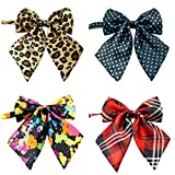 Ez-sofei Girls School Uniform Bow Ties Multicolor Cosplay Accessory (Pack of 4)