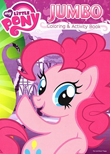 My Little Pony Jumbo Coloring and Activity Book 96 Pages 2pk by Bendon Publishing Intl