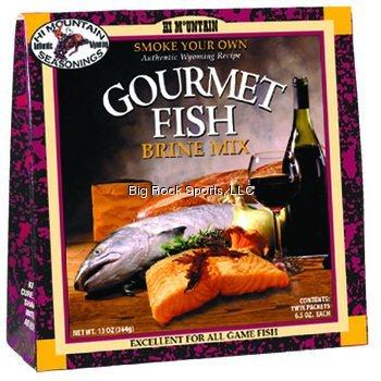 Hi Mountain Gourmet Fish Seasoning Brine (Best Smoked Fish Brine)