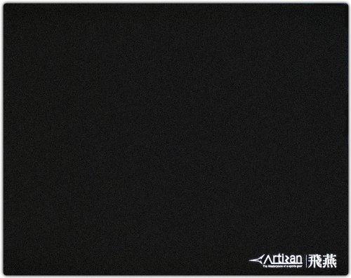 ARTISAN Gaming mouse pad Hien SOFT Large HI-SF-JB-L Color: Japan Black (Japan Import)