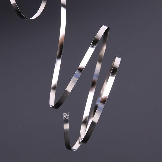 5M Ni Plate Nickel Strip Tape For Li 18650 Battery Spot Welding 0.12x4mm