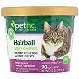 Product review for PetNC Natural Care Hairball Soft Chews for Cats, 90 Count (Pack of 3)