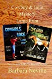 Cowboy & Injin  Mystery Large Print (Spirit Animal Large Print Box Set Book 2)