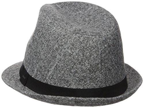 Nautica Women's Marled Fedora Hat, Grey, One Size