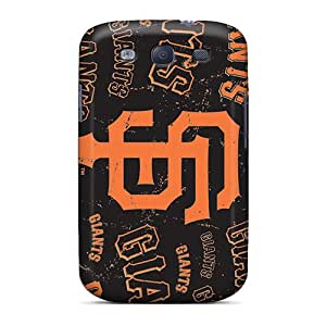 New Style Tpu S3 Protective Cases Covers/ Galaxy Cases - San Francisco Giants Black Friday