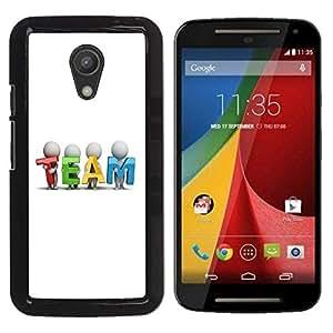 Be Good Phone Accessory // Dura Cáscara cubierta Protectora Caso Carcasa Funda de Protección para Motorola MOTO G 2ND GEN II // TEAM
