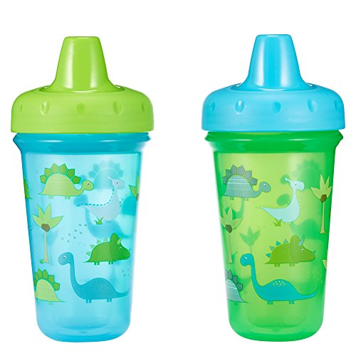 The First Years Stackable Hard Spout Cup Dinosaur 2pk