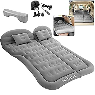 Nifusu SUV Air Mattress Camping Beds, Inflatable Car Travel Bed Backseat with Two Pillow and Electric Air Pump, Double… 4