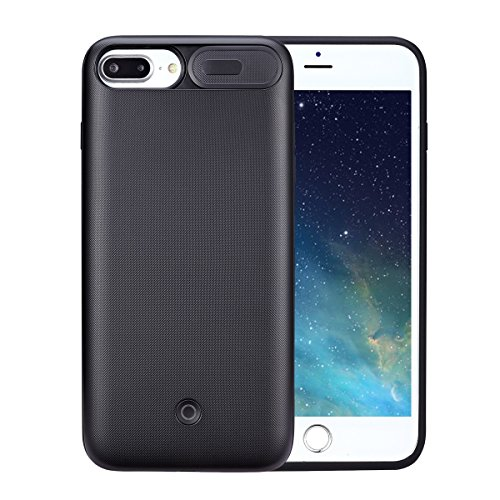[Upgraded] SUNWELL Battery Case Compatible for iPhone 8 Plus/7 Plus/6S Plus Battery Case, 4200mAh Ultra Slim Charger Case for iPhone 8 Plus/7 Plus/6 Plus/6S Plus