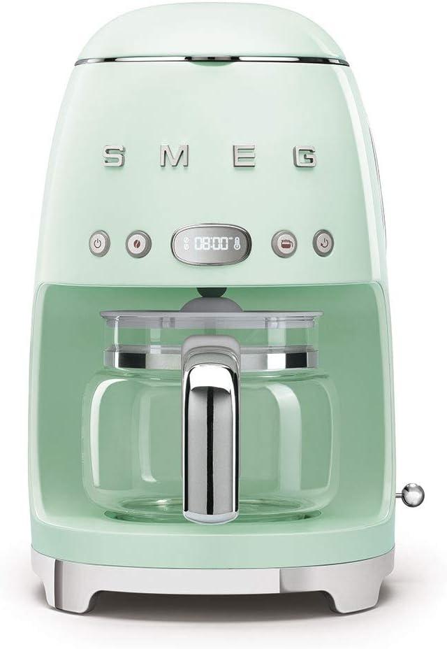 Amazon.com: Smeg 1950s Retro Style máquina de café ...