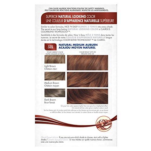 Nice 'N Easy Permanent Hair Color 5R Natural Medium Auburn ...