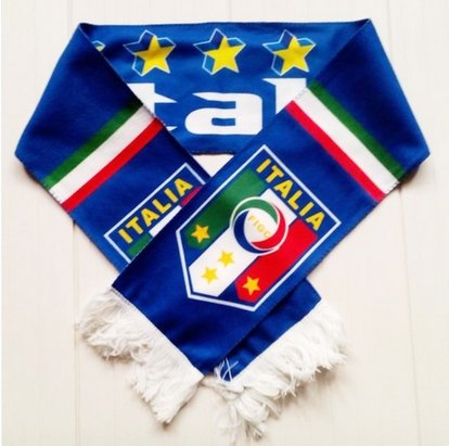 2014 Brazil World Cup Fans Scarves(nine Countries) (Italy)