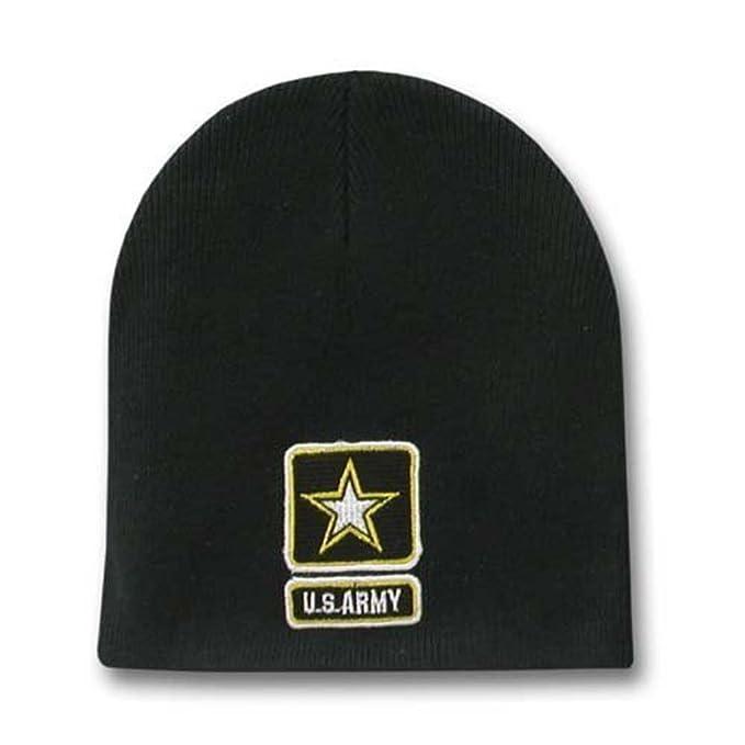 Amazon.com  Rapid Dominance New US Army Black Beanie  Clothing bae51cb73c3
