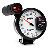 """Auto Meter 7599 Phantom II 5"""" 10000 RPM Shift-Lite Tachom..."""
