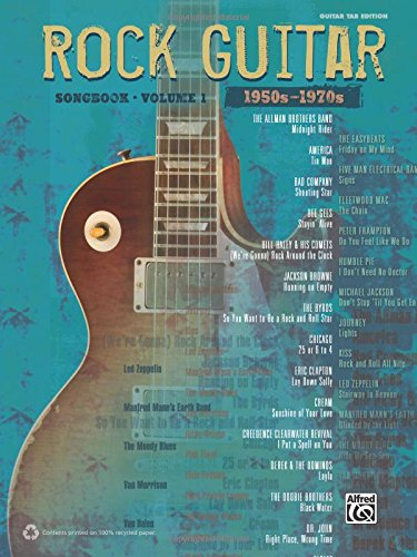 The Rock Guitar Songbook - Volume 1 (1950s-1970s) (Guitar Tab Edition)