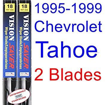 1995-1999 Chevrolet Tahoe Replacement Wiper Blade Set/Kit (Set of 2 Blades