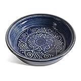 The Potters, LTD 7-inch Pie Plate Baking Dish, True Blue