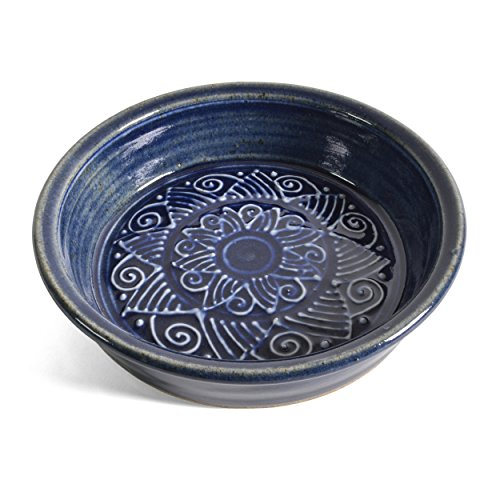 The Potters, LTD 7-inch Pie Plate Baking Dish, True Blue by The Potters, LTD