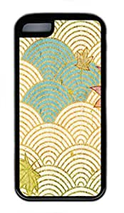 Fun Day Cream Waves Protective Tpu Back Fits Cover Case For Iphone 5C -1122070