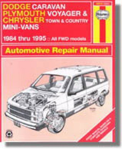 - H30010 Haynes Dodge Caravan Plymouth Voyager Chrysler Town Country Mini-Vans 1984-1995 Auto Repair Manual