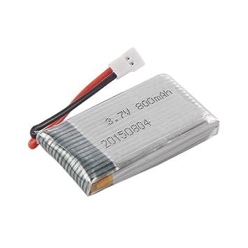 Pila de drón RC Prevently, batería DE 3,7 V 800 mAh para Drone ...