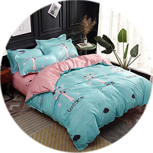 Kmart Cotton Comforter - Memoirs- Print Bedding Set Sheet Pillowcase Blanket/Duvet/Quilt Cover Set Bed Linens,20195184,Twin 155x205cm 3pc