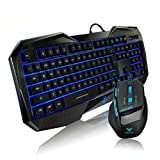 AULA KILLING THE SOUL REHEAD Gaming Keyboard Mouse comb