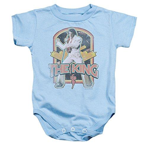 Elvis Distressed King Baby Onesie (Elvis Onesie)