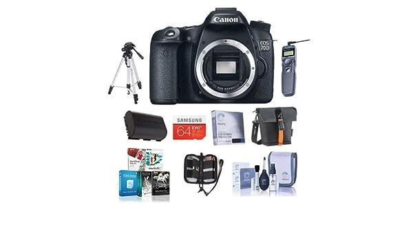 Canon EOS 70d cámara réflex Digital Bundle. Estados Unidos. Valor ...