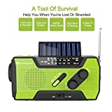 RunningSnail-Solar-Crank-NOAA-Weather-Radio-For-Emergency-with-2000mAh-Power-Bank-Flashlight-and-Reading-Lamp