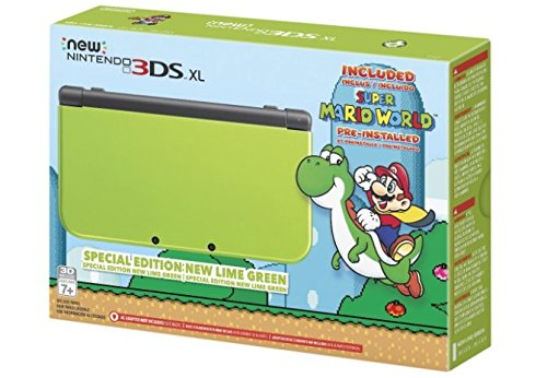 Nintendo New 3DS XL - Lime Green Special Edition [with AC Adapter] (Nintendo New 3ds Xl Special Edition Lime Green)