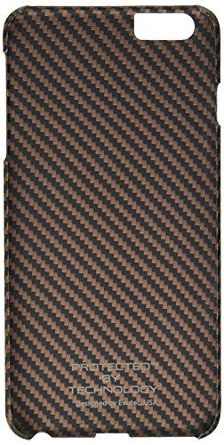 Evutec Karbon S Serie Sleek Impact Schutz Schutzhülle für Apple iPhone 6Plus–Brewster braun/schwarz