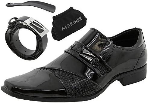 d24b12058 Sapato Masculino Social Preto Mariner - 73095: Amazon.com.br: Amazon ...