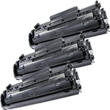 3 Inkfirst® Toner Cartridges Q2612A (12A) Compatible Remanufactured for HP Q2612A Black LaserJet 3015 3020 3030 3050 3052 3055 M1005 MFP M1319 M1319F 1010 1012 1018 1020 1022 1022N 1022NW