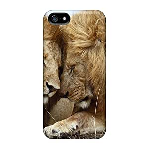 Faddish Affectionate Lions Masai Mara National Reserve Kenya Case Cover For Iphone 5/5s by Maris's Diary