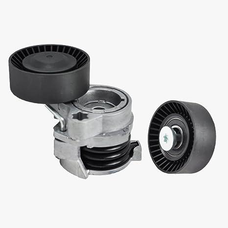 BMW Alternador cinturón tensor w/Polea + correa de distribución polea Premium calidad 588/