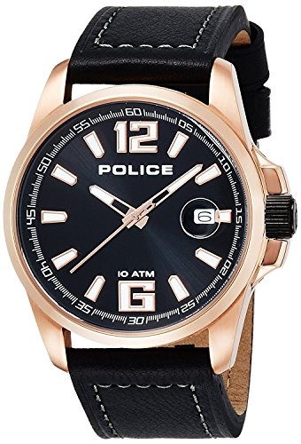 POLICE watch Lancer 12591JVSR-02 21000 LANCER Men with calendar [regular imported goods]